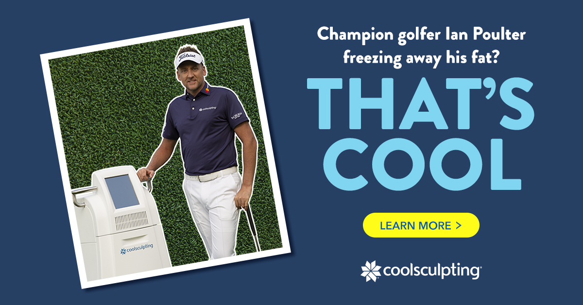 CoolSculpting Ian Poulter Banner